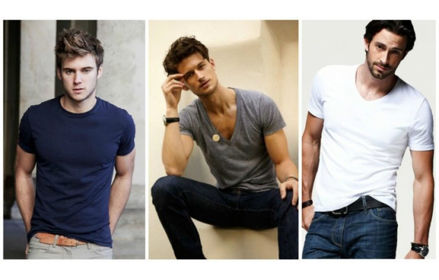 Востребованные типы мужских футболок