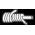 ЭЛАСТАН ДВОЙНОЙ ОБКРУТКИ - Разновидностей плетения LYCRA. Нить LYCRA, обкручивают 2 слоями полиамида, благодаря чему достигается