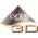 LYCRA 3D -  Нить LYCRA  обкручиваются нитью полиамида 2 раза : сначала в одном направлении, а затем в другом. Это позволяет мате
