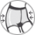 МОДЕЛИРУЮЩИЕ ШОРТЫ - Вверх колгот выполнен в виде специальных (моделирующих) шорт, повышенной плотности (до 140 den), предназначены для создания утягивающего эффекта в области живота и бедер. Бывают с классической и завышенной талией, удлиненной  и стандартной длины. Создают стройный силуэт.
