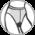 С ТРУСИКАМИ-БИКИНИ И ЛАСТОВИЦЕЙ- Верх колготок выполнен в виде трусиков-бикини, имеющих большую плотность, чем чулочная часть. М