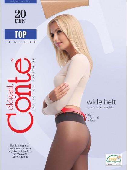 Conte Top 20 Den женские тонкие колготки с низкой талией
