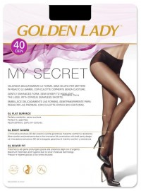Golden Lady My Secret 40 Den