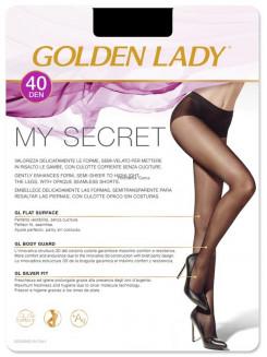 Golden Lady My Secret 40 Den