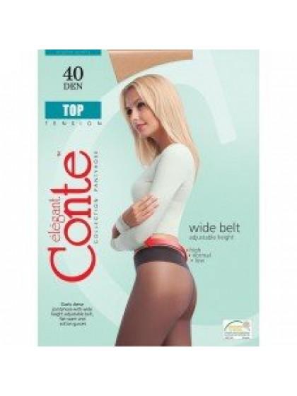 Conte Top 40 Den классические колготки с заниженной талией