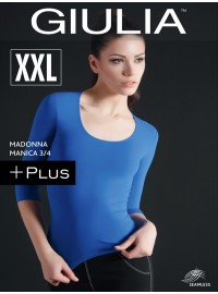 Giulia Maglia Scollo Madonna Manica 3/4 Plus