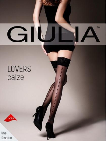 Giulia Lovers calze 20 Den тонкие чулки со швом сзади