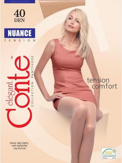Conte Nuance 40 Den женские классические колготки с шортиками