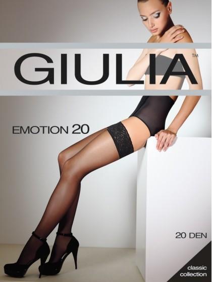Giulia Emotion 20 Den классические тонкие чулки