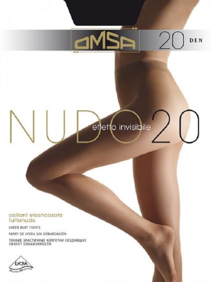 Omsa Nudo 20 Den тонкие классические колготки без шорт