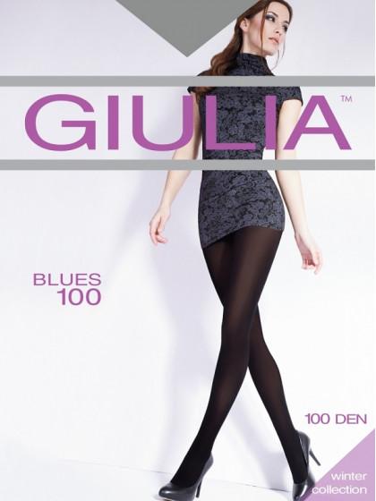 Giulia Blues 100 Den женские колготки из микрофибры