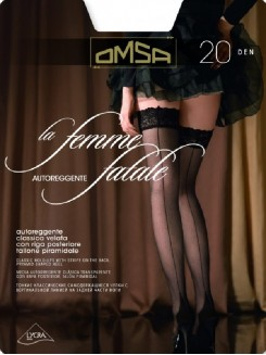 Omsa La Femme Fatale 20 Den Autoreggente