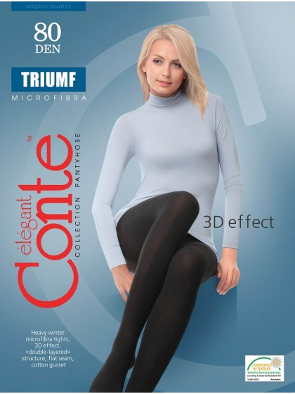 Conte Triumf 80 Den женские плотные колготки из микрофибры