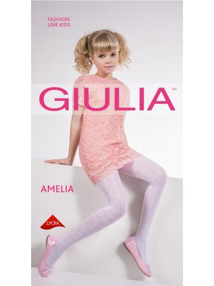 Giulia Amelia 40 Den Model 6 детские колготки с цветочным рисунком