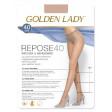 Golden Lady Repose 40 Den эластичные поддерживающие колготки с уплотненными шортами