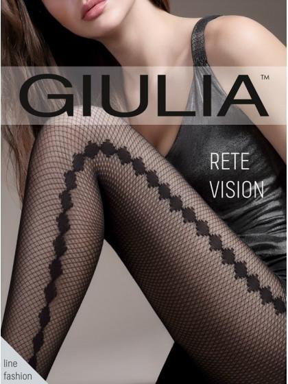 Giulia Rete Vision 40 Den Model 2 фантазийные женские колготки с эффектом тюля