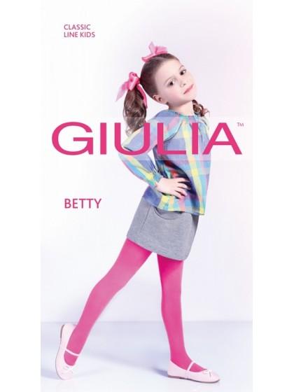 Giulia Betty 80 Den плотные детские колготки из микрофибры