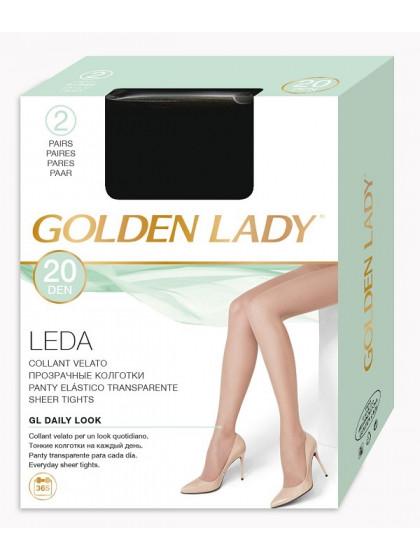 Golden Lady Leda 20 Den тонкие полиамидные колготки