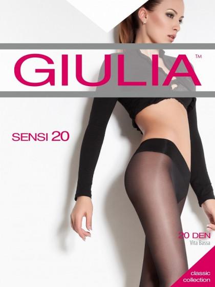 Giulia Sensi 20 Den тонкие женские колготки на заниженной талии