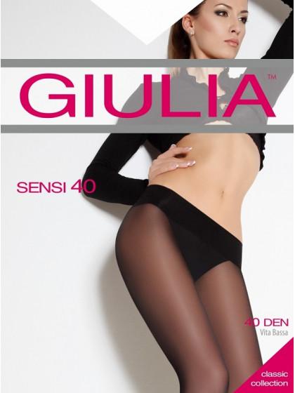 Giulia Sensi 40 Den колготки средней плотностина заниженной талии