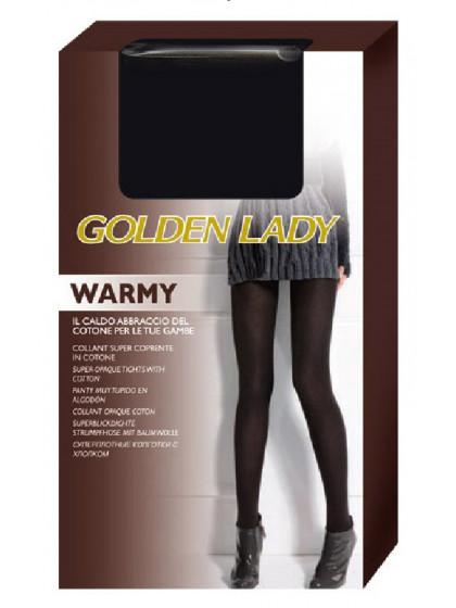 Golden Lady Warmy теплые хлопковые колготки