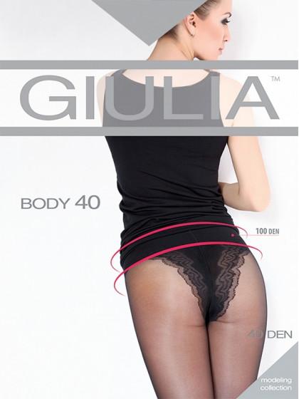 Giulia Body 40 Den корректирующие колготки средней плотности