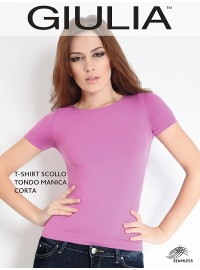 Giulia T-Shirt Scollo Tondo Manica Corta