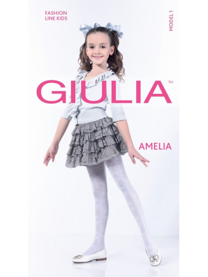 Giulia Amelia 40 Den Model 1 детские колготки с рисунком