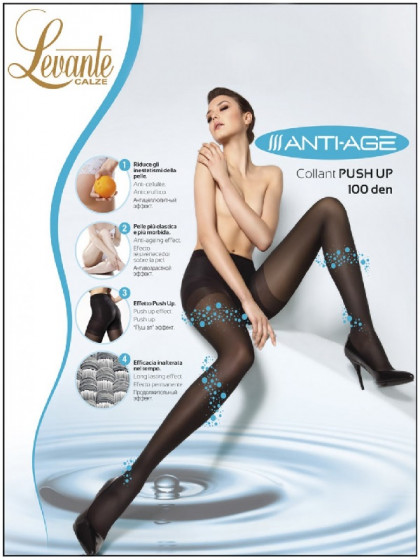 Levante Anti-Age 100 Den моделирующие теплые колготки