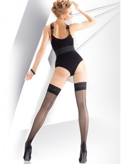Annes Calze Exclusive 20 Den женские чулки с имитацией шва сзади