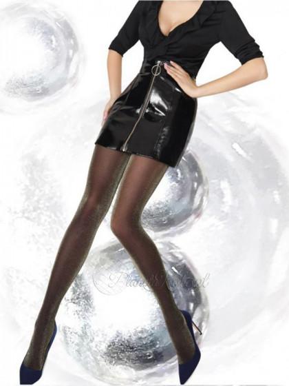 Annes Multicolor 30 Den фантазийные колготки для женщин с люрексом