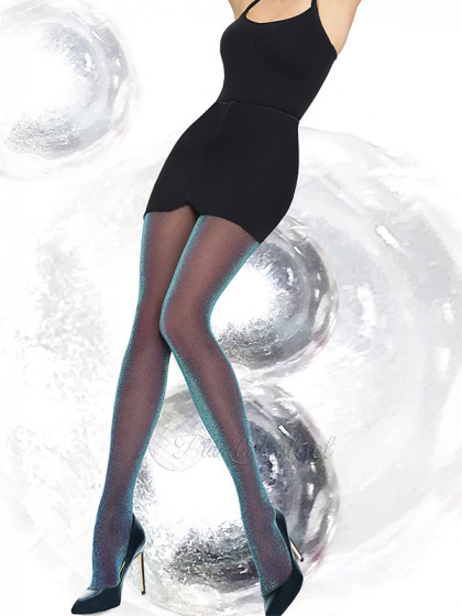 Annes Rainbow 30 Den женские фантазийные колготки с люрексом
