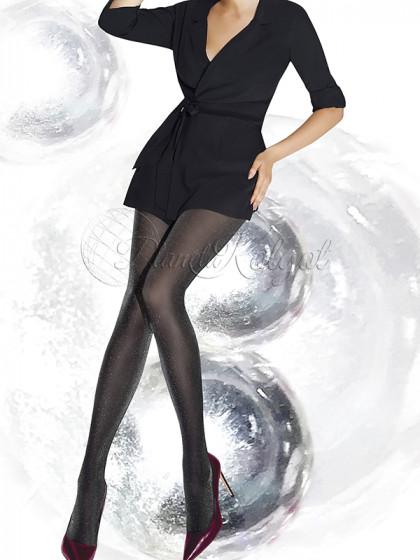Annes Transparent 30 Den женские фантазийные колготки с люрексом