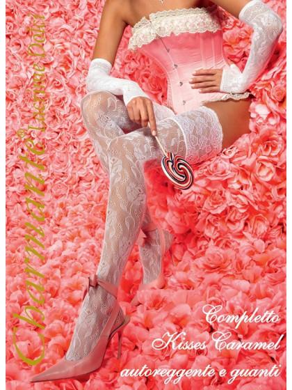 CHARMANTE Kisses Caramel женский кружевной набор