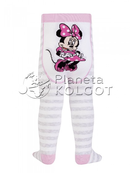 Conte Kids Disney 17С-130СПМ 458 теплые детские хлопковые колготки для девочек