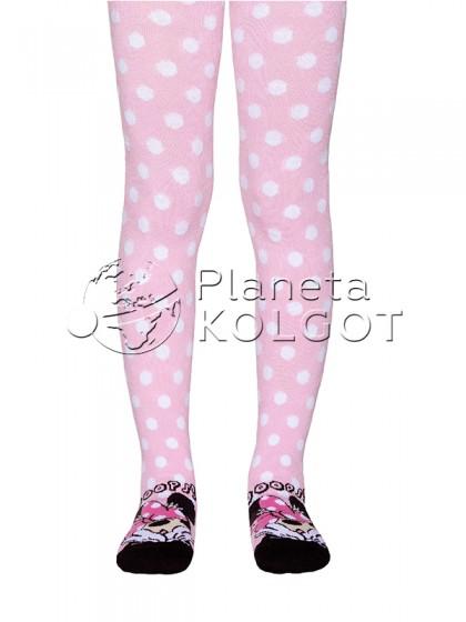 """Conte Kids Disney 17С-130СПМ 467 детские колготки для девочек с рисунком """"Минни Маус"""""""
