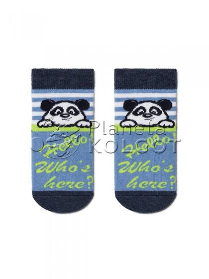 """Conte Kids SOF-TIKI 7С-46СП 229 детские носки для мальчиков и девочек с принтом """"Панда"""""""