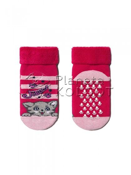 Conte Kids SOF-TIKI 7С-62СП 259 детские махровые носки с антискользящей стопой и отворотом