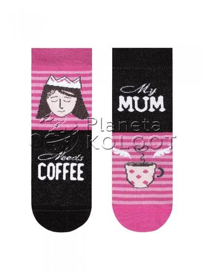 Conte Kids Tip-Top 17С-10СП 337 детские носки для девочек с принтом