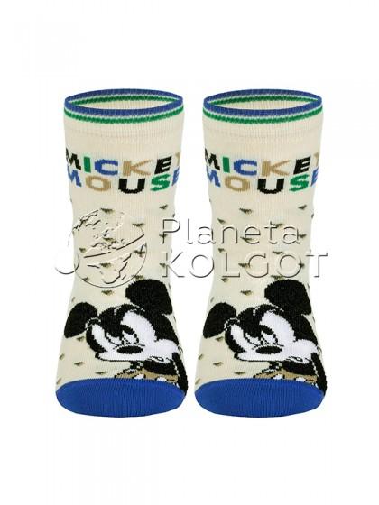 "Conte Kids Disney 17С-126СПМ 349 детские носки с рисунком ""в точку"" и принтом ""Mickey Mouse"""