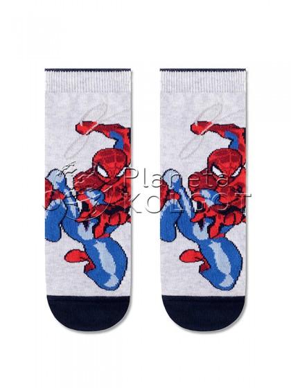 Conte Kids Marvel 17С-132СПМ 357 детские носочки из хлопка с Человеком-Пауком