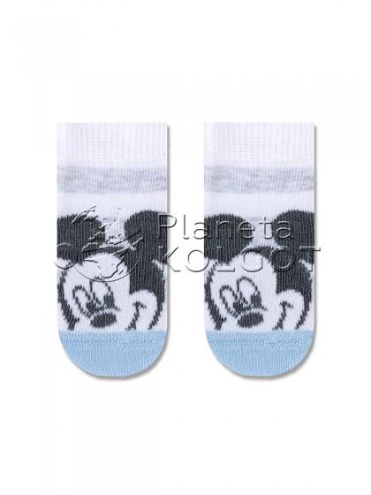"""Conte Kids Disney 17С-126/1СПМ 360 полосатые носочки для детей с принтом """"Микки Маус"""""""