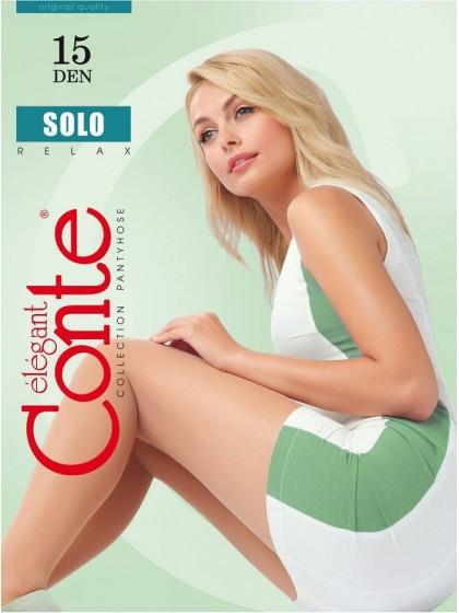 Conte Solo 15 Den тончайшие классические колготки с шортиками