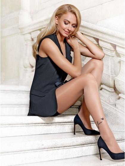 Conte Free женские фантазийные колготки с имитацией тату