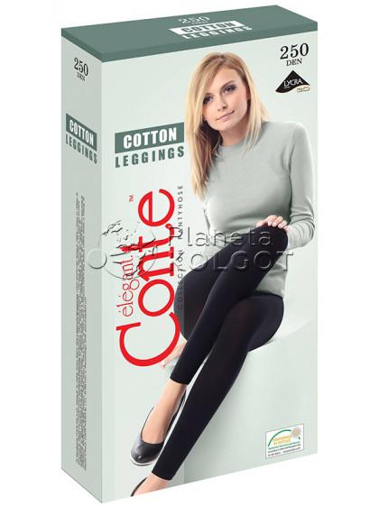 Conte Cotton 250 Den Leggings женские теплые леггинсы (лосины) из хлопка