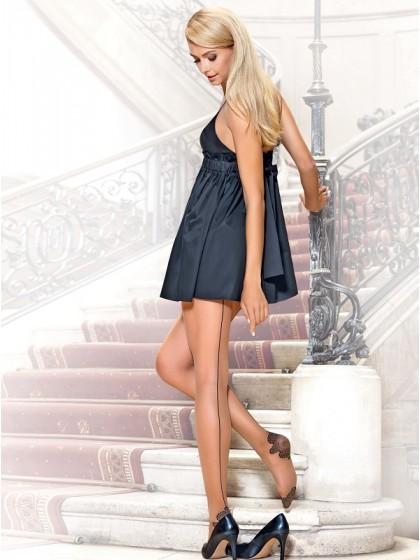Conte Trace женские фантазийные колготки со швом сзади