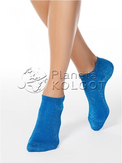 Conte Elegant Active женские укороченные носочки с люрексом