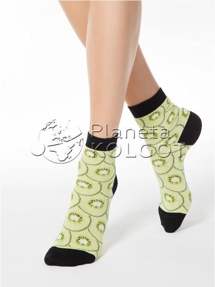 "Conte Elegant Classic 7С-22СП 107 женские носочки с принтом ""киви"""