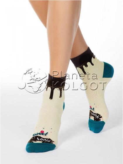 Conte Elegant Classic 7С-22СП 115 женские классические носки с рисунком