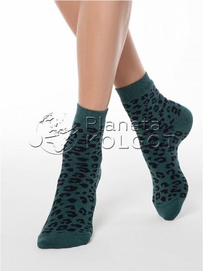 Conte Elegant Comfort 17С-64СП 118 женские хлопковые махровые носочки средней длины